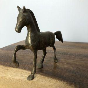 Vintage Accents - Vintage Brass Horse Figurine